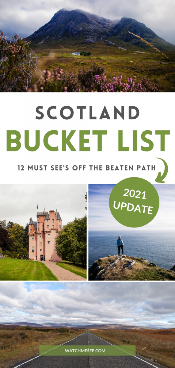 Think you've seen Scotland after a trip to Edinburgh and Skye? Here are 12 off the beaten path places on for your Scotland bucket list.