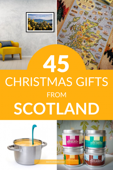 Looking for a unique gift from Scotland? Find 45 awesome ideas for friends and family in this Scotland gift guide for Christmas 2020.