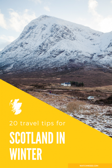 Plan an epic winter trip to Scotland with these 20 things to consider before visiting Scotland in winter.