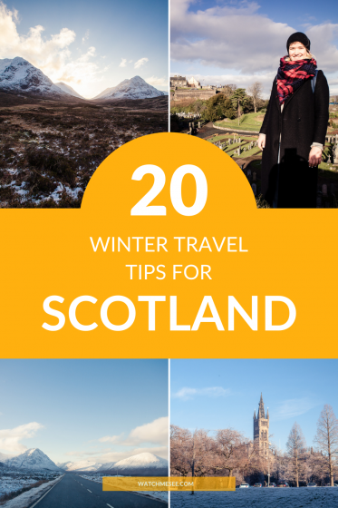 Find out everything you need to know about visiting the Scottish Highlands in winter and get 20 tips for a memorable winter holiday in Scotland!