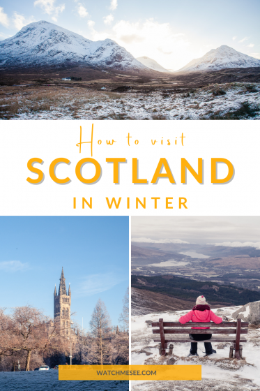 Is it worth visiting Scotland in winter? Yes, but you have to plan accordingly with these 20 winter travel tips for Scotland.