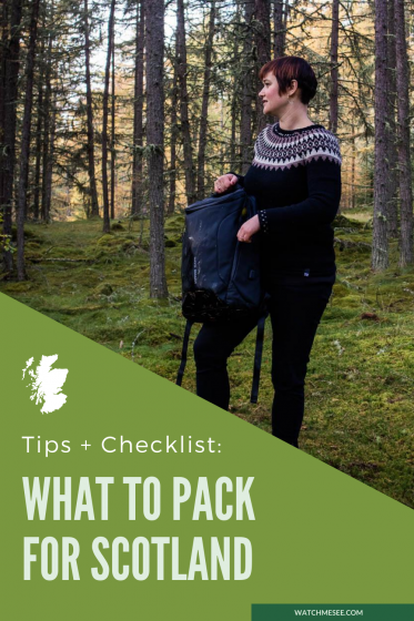 Get packing with this perfect packing list for Scotland, tips for every season and activity, plus a downloadable checklist.
