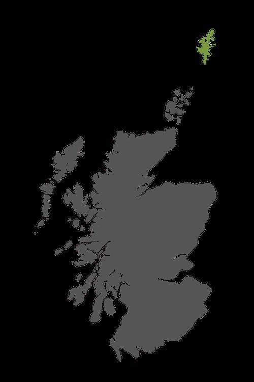 shetland map scotland