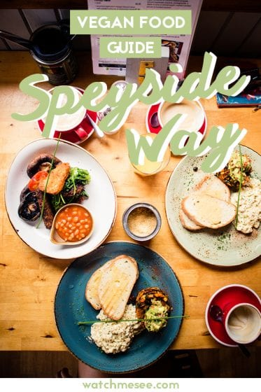 Click here to find my Speyside Way vegan guide to the vegan-friendly restaurants and shops I tried while hiking in the Speyside of Scotland.