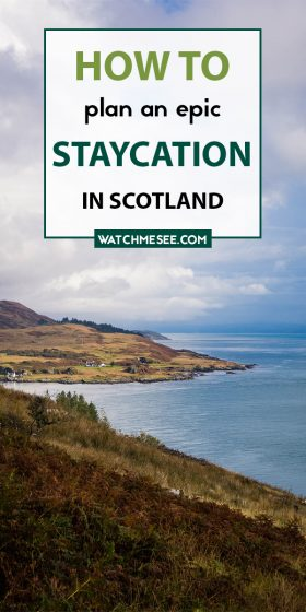 A staycation in Scotland can be epic and full of surprises! Use this guide packed with tips to plan a trip to Scotland that will rival any vacation abroad.