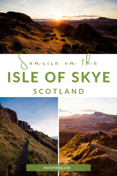 Wonder where to see the most beautiful sunrise on Skye? Find out in this immersive travel story about a sunrise on the Scottish Isle of Skye.