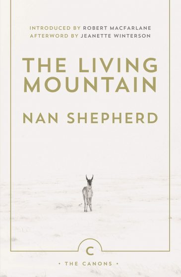 book cover of the living mountain nan shepherd