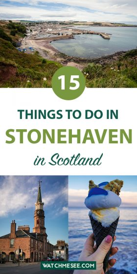 From Dunnottar Castle to Aunt Betty's iconic ice cream: here are 10 things to do in Stonehaven for the perfect seaside getaway in Scotland.