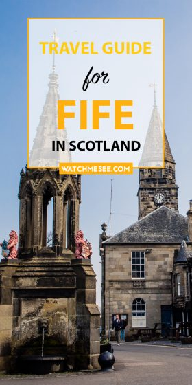 From Culross to Anstruther, this list of great things to do in Fife will give you plenty of ideas and inspiration for great days out in Fife!