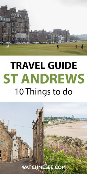 St Andrews is famous for golf, its university and it's unique history - plenty to discover! Read on for 10 awesome things to do in St Andrews.