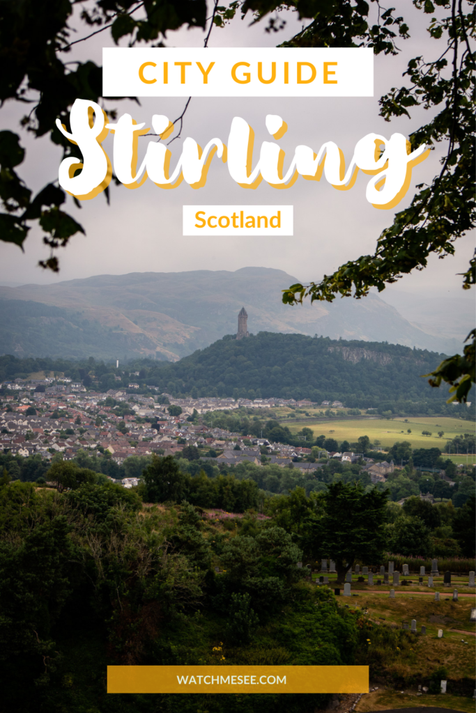 You might have heard about Stirling Castle and the Wallace Monument - but have you ever thought about trying these things to do in Stirling?!