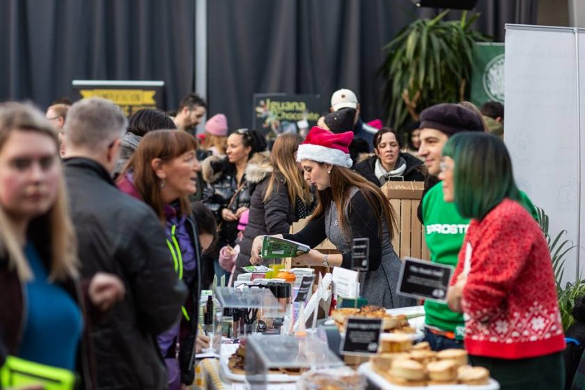 Vegan Connections Christmas Market in Glasgow