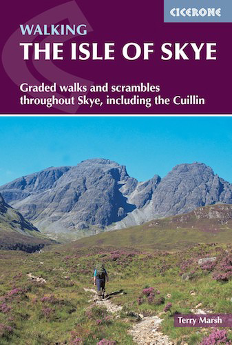walking on the isle of skye hiking guidebook